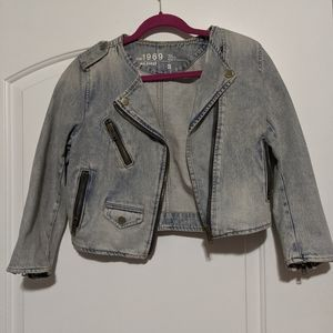 Light Denim Jean Jacket